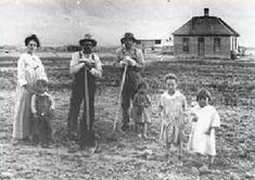 In the Westward Expansion a lot of them came to the west in seek of farm land. The government paid people to farm.