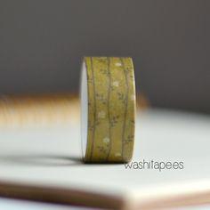 washi tape bosque  #washitape a 50 céntimos!