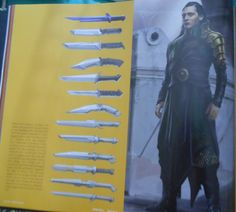 "thehiddlestonianobasan: ""Loki Concept Art from THE ART OF THOR RAGNAROK."