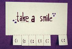 take a smile Take A Smile, Take That, Names, Marketing, Tips, Counseling