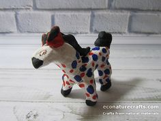 Russian toy from salt dough – Horse