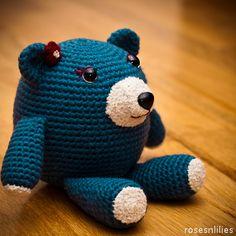 Osito crochet