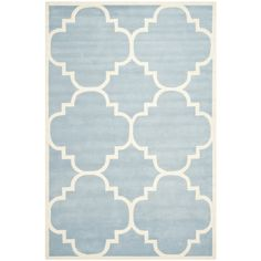 This wool area rug is a classic addition to your living room floor. Its soft fabric and conservative design are sure to gain your guests' appreciation. Made of the highest-quality wool and backed with canvas, the rug will withstand heavy use.