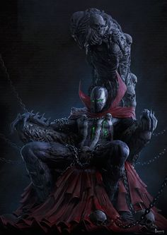 Since his creation way back in Todd McFarlane's intense anti-hero Spawn has been a solid force in the comic book industry. Since that time, Spawn has shown up on all sorts of best-of lists an. Spawn Comics, Bd Comics, Image Comics, Anime Comics, Deadpool Comics, Dark Comics, Comic Book Characters, Comic Character, Comic Books Art