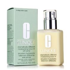 Clinique Dramatically Different Moisturizing Lotion  4.2 fl oz with Pump ** Click image for more details. (This is an affiliate link and I receive a commission for the sales)
