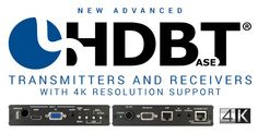 CYP Offers New Advanced HDBaseT Transmitters and Receivers