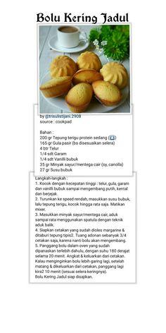 Easy Cake Recipes, Tea Recipes, Cookie Recipes, Breakfast Recipes, Dessert Recipes, Indian Pickle Recipe, Resep Cake, Heritage Recipe, Palembang
