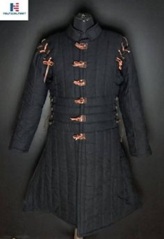 MEDIEVAL THICK PADDED SKIRT GAMBESON COTTON ARMOR SCA LARP