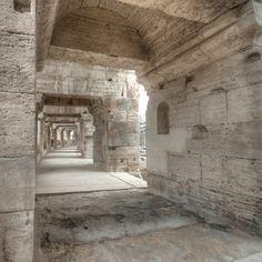 Arles. France. Ancient Roman architecture