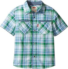 aa2594ece Amazon.com: Levi's Kids Mens Seacliff Short Sleeve Shirt (Little Kids):  Clothing