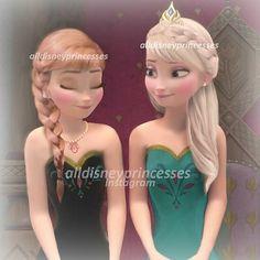 @alldisneyprincesses Instagram photos | Websta 〖 Disney Frozen Anna Elsa sisters 〗