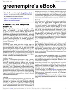 reasons-to-join-empower-network-e-book by greenempire via Slideshare