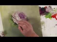 How to Paint a Rose Demo: Colors of Paint It Simply Part 4 - YouTube