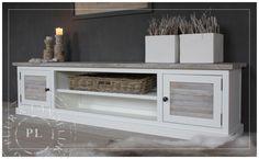 Maatwerk / tv meubel / FLAME / romantic beach | 》Landelijk tv meubel / flatscreenmeubel / flatscreenkast | Puur & Landelijk Living