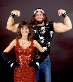 Randy Savage and Elizabeth