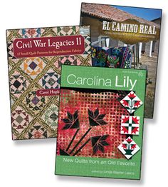 WIN 3 brand-new quilting books from The Quilter Magazine!   Enter by September 8, 2014, at http://www.thequiltermag.com/giveaways/169/index.shtml.
