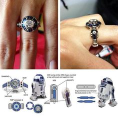 R2D2 ring! i kind of love this!