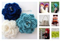 Crocodile stitch is a clever way to create the effect of overlapping feathers, scales or petals. Here are some Beautiful Crocodile Stitch Crochet Patterns.