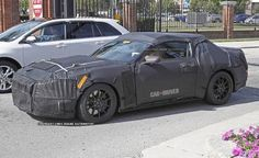 2016 Ford Mustang Shelby GT500 Spy Photos: The 662-hp beast returns with a new body and an independent rear suspension.