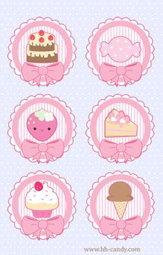 Delicious Cameo Designs by *A-Little-Kitty on deviantART