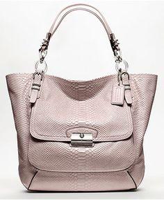 Coach Kristin Pinnacle Embosed Python Tote,cheap coach handbags china ,cheap wholesale designer handbags china,cheap wholesale designer bags hub.