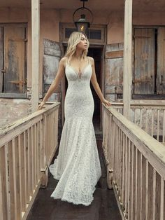 This lace fit-and-flare wedding dress in vintage-inspired lace and glitzy embellishments. This Rebecca Ingram gown is available at the Atlas Bridal Shop. Atlas Bridal Shop is a bridal & wedding dress shop in Toledo, Ohio. Find wedding dresses, bridal gowns, veils & hair accessories, plus size, sleeves, beach, destination, formal, wedding dress styles. Wedding dress designers include Morilee, Allure Bridal, Allure Couture, Maggie Sottero, Rebecca Ingram, Sottero Midgely and more. Sottero And Midgley Wedding Dresses, Bridal Wedding Dresses, Wedding Dress Styles, Bridal Style, Formal Wedding, Dream Wedding, Allure Bridal, Maggie Sottero, Couture Allure