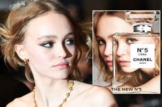 Lily Rose Depp gives a killer pout in latest campaign for Chanel N°5 L'EAU…