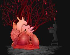"""Check out new work on my @Behance portfolio: """"the giving tree, another...""""…"""