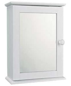 Hygena Mirrored Single Door Wall Cabinet. | Argos | Pinterest ...