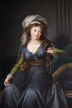 Ekatarina Pavlovna Bagration, née Skavronskaia (1783 - 1857)