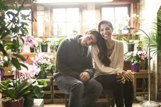 """Colin O'Donoghue and Christina Perri behind the scenes of """" The Words """" music video"""