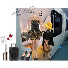 """Jet Class"" by thedyb on Polyvore #fashion #jeremyscott #christianlouboutin #Balenciaga #shoes #pumps #heels #peeptoe #blackandgold #black #gold #cuff #multi #jewelry #earrings #bracelet #bangle #necklace #accessories #hat #handbag #purse #bag #clutch #minidress #dress #dressy #ruffles #ruffledskirt #sleevelessdress #jacket #hot #haute #xfactor #jetclass #fabulous #fashionista #chic #girly #personalstyle #style #outfit #Color #spring #2014 #summer #fall #expressyourself #prints #luggage"