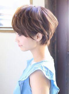 すっきりショートボブ☆ 【NOLUE】 http://beautynavi.woman.excite.co.jp/salon/27509?pint