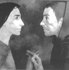 Mariage mystique de Saint François avec Dame Pauvreté by Michel Ciry