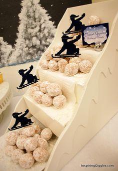Darling party food display idea!