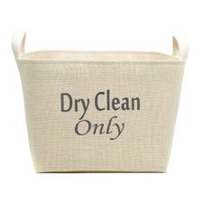 Dry Clean Only Storage Basket