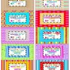 Here is my third set of 2x4 labels I created to keep myself organized with all the Candy Land Games I created. I simply print them out on Avery 2x4...