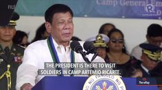 Duterte to military: Occupy PH islands in South China Sea - WATCH VIDEO HERE -> http://dutertenewstoday.com/duterte-to-military-occupy-ph-islands-in-south-china-sea/   To assert sovereign rights over Philippine territories in the disputed West Philippine Sea (South China Sea), President Rodrigo Duterte said he has ordered the military to occupy islands there. Full story:  News video credit to Rappler's YouTube channel
