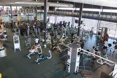 Scottsdale Community College | Free-weight stations. #SCCFitnessCenter, #SCCFitnessWellness, #GetYourFitnessOn