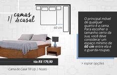 Como escolher a cama ideal para o quarto de casal!