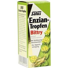 ENZIAN Tropfen Bittry Salus:   Packungsinhalt: 50 ml Flüssigkeit zum Einnehmen PZN: 04462849 Hersteller: SALUS Pharma GmbH Preis: 9,36…