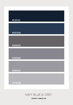 Navy Blue and Grey Bedroom Colour Combo Charcoal Bedroom, Sage Bedroom, Black And Grey Bedroom, Navy Blue Living Room, Blue Grey, Grey Colour Scheme Bedroom, Gold Color Scheme, Blue Color Schemes, Gold Colour