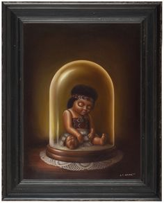 Liam Barr Bell Jar 46 x 60 cm > Oil on Canvas > 2010 The Bell Jar, Bell Jars, Example Of News, New Zealand Art, Nz Art, Maori Art, Kiwiana, Art Series, Contemporary Artwork