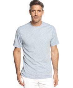 Tasso Elba Island Space Dye Striped T-Shirt
