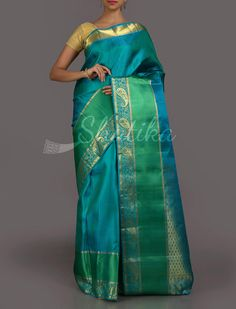 Savitri Icy Fresh Passion Real Zari #DharmavaramSilkSaree