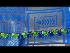 New design using doughnut rings (kannada version) Rangoli Designs Peacock, Easy Rangoli Designs Diwali, Simple Rangoli, Saree Kuchu New Designs, Saree Tassels Designs, Simple Blouse Designs, Devotional Quotes, Diy Crafts Hacks, Happiness Quotes
