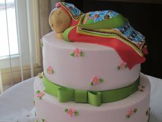 a Hmong baby shower cake.  Love it.