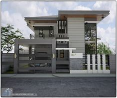 Small Modern House Exterior, Small Contemporary House Plans, Best Modern House Design, Modern Contemporary Homes, Small Modern Home, Small House Design, Modern House Plans, Architectural House Plans, Architectural Services
