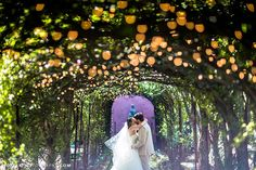 It's been said that love is the closest thing we have to magic. And when you put a couple in love in the right location with some romantic lighting, the results can be positively enchanting.  Below are 21 wedding photos that look like they could have been torn out of the pages of a fairy tale.