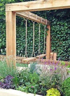 Small Backyard Landscaping, Backyard Pergola, Backyard Ideas, Outdoor Pergola, Landscaping Ideas, Modern Pergola, Pergola Kits, Pergola Shade, Backyard Pools